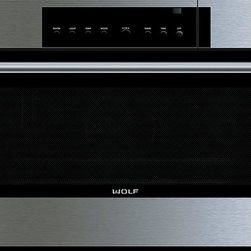 """Wolf 30"""" E Series Transitional Convection Steam Oven Stainless Steel 