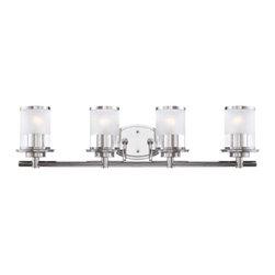 Designer Fountain - Essence 4 Light Bath Bar - 4 Light Bath Bar