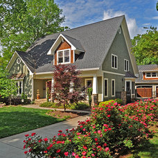 Craftsman Exterior by Charlotte Real Estate Photos by Julie Legge