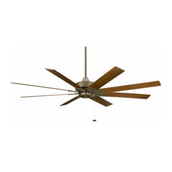 Fanimation - Fanimation Levon Ceiling Fan in Oil-Rubbed Bronze - Fanimation Levon Model FP7910OB in Oil-Rubbed Bronze with Walnut Finished Blades.