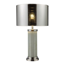 """Dimond Lamps - Mont Alto Modern Table Lamp - Height: 24"""""""