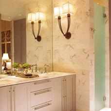 Eclectic Bathroom by Joel Kelly Design