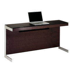 BDI - BDI Sequel Return, Espresso - The Sequel Return from BDI is another space conserving desk top that can be added on to with storage. It has a slimmer table top and comes in 3 color options.