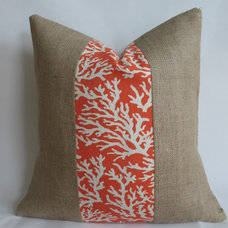 traditional pillows by Bouteille Chic