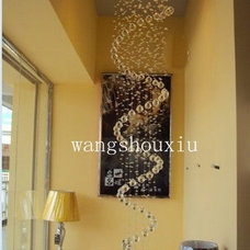 Free shipping hot selling crystal ceiling lamp modern lamp also for wholesale-in