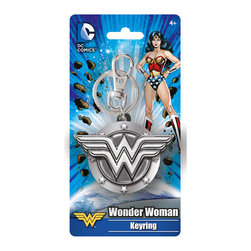 KOOLEKOO - Wonder Woman Logo Key Chain - Add some Wonder Woman flair to your keys! This Wonder Woman Logo Pewter Key Chain is the perfect thing for Wonder Woman fans. It features the Wonder Woman shield logo all shiny and metallic!