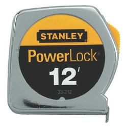 "Stanley - Powerlock Tape Rule .5""X12' - 
