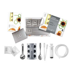 Molecule-R - Molecule-R Cuisine R-Evolution Kit - Everything you need to experiment with Molecular Gastronomy in a single kit! Natural texturing agents can now be used to deconstruct any dish thanks to 3 spectacular techniques.