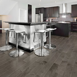 Mirage Hardwood Floors - Mirage: Admiration Collection: Yellow Birch, color: Charcoal