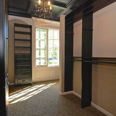 Transitional Closet by Southampton Builders