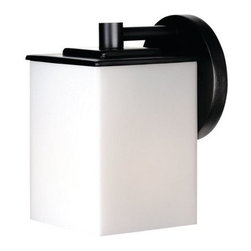 Forecast Lighting - Forecast Lighting F8498 Single Light Outdoor Wall Sconce from the Midnight Colle - Transitional Single Light Outdoor Wall Sconce from the Midnight CollectionRequires 1 60w Medium Bulb (Not Included)UL Listed for Wet Locations