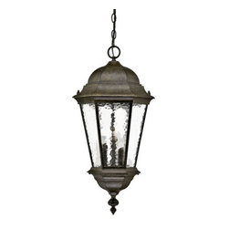 "Acclaim Lighting - Acclaim Lighting 5526 Telfair 3 Light 25.5"" Height Outdoor Pendant - Acclaim Lighting 5526 Telfair Three Light 25.5"" Height Outdoor PendantThis grand outdoor pendant from the Telfair Collection will add a delightful traditional look to your exterior d�cor.Acclaim Lighting 5526 Features:"