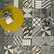 Contemporary Floor Tiles by Urban Edge Ceramics