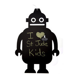 Robot Chalkboard - It's a chalkboard! It's a robot! It's super cute! And 100 percent of the profits go to St. Jude Children's Research Hospital. This one's a no-brainer.