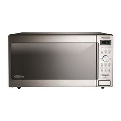 Panasonic - 1250W, 1.6 Cu Ft. Sensor, Stainless Front and Silver Body, Solid Dial - The Panasonic NN-SD772S 1.6 Cu. Ft. 1250W Genius Sensor Microwave Oven with Inverter Technology is perfect for the countertop or built-in installation. Unlike other microwave ovens, Inverter technology delivers a seamless stream of cooking power, even at lower settings, for precision cooking that preserves the flavor and texture of your favorite foods. With Inverter, you can poach, braise and even steam more delicate foods, all with the speed and convenience of a microwave! With the touch of our Genius Sensor cooking button, this microwave takes guesswork out of creating a great meal by automatically setting power levels and adjusting cooking or defrosting time. The sensor measures the amount of steam produced during cooking and signals the microprocessor to calculate the remaining cooking time at the appropriate power level. Plus with Turbo Defrost, you can thaw foods faster than ever!