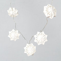 Swedish Paper Snowflake Lights