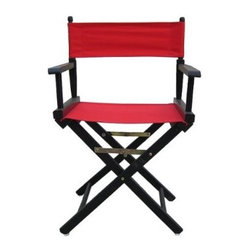 Director's Chair - Are you someone who likes to take charge? You might as well make it official by ruling your roost from this director's chair. It's the perfect excuse to sit back, and let everyone else do the work. That's what directors do ... right?
