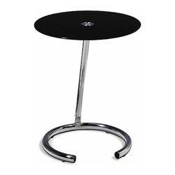 Avenue Six - Avenue Six Telephone Table - -Durable chromed steel base