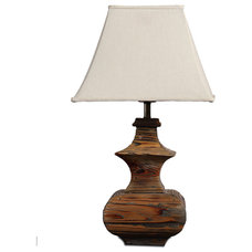 Asian Table Lamps by ParrotUncle