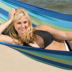 """Bliss Hammock with Spreader Bars - Dimension: 6' 5"""" long x 3' 3"""" wide"""