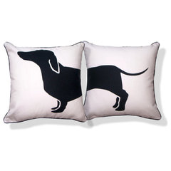 eclectic pillows by Naked Decor