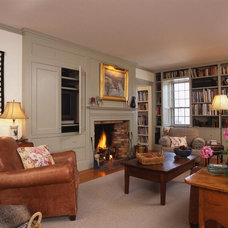 Traditional Family Room by Frank Shirley Architects