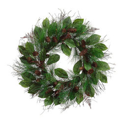 Silk Plants Direct - Silk Plants Direct Pine Cedar, Cone and Pine Wreath (Pack of 2) - Pack of 2. Silk Plants Direct specializes in manufacturing, design and supply of the most life-like, premium quality artificial plants, trees, flowers, arrangements, topiaries and containers for home, office and commercial use. Our Pine Cedar, Cone and Pine Wreath includes the following: