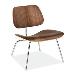 Eames® Molded Plywood Lounge Chair with Metal Legs | Room and Board - t's hard to browse Houzz and NOT run across an Eames Molded Plywood Lounge Chair. This is a timeless classic that works hard in all sorts of room. Wanna see? Check out  this ideabook.