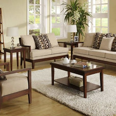 Contemporary Living Room Furniture Sets by FurnitureNYC