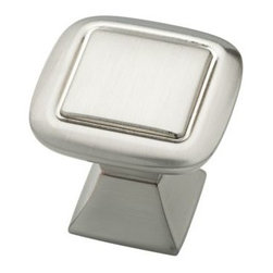 Liberty Hardware - Liberty Hardware P20327-SN-C Southampton 1.24 Inch Square Knob - Satin Nickel - A simple change can make a huge impact on the look and feel of any room. Change out your old cabinet knobs and give any room a brand new feel. Width - 1.24 Inch, Height - 1.24 Inch, Projection - 1.18 Inch, Finish - Satin Nickel, Weight - 0.1 Lbs.