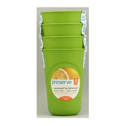 Preserve Reusable Cups Apple Green - 16 Oz - Case Of 8 Packs Of 4 - Preserve Reusable Cups Apple Green Description