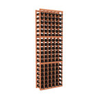 Wine Racks America - 6 Column Standard Wine Cellar Kit in Redwood, (Unstained) - Six columns of storage accommodates nine cases of wine — surely that's arithmetic worth toasting! This easy-to-assemble cellar is made of redwood, available in your choice of colors and finishes and, thanks to savvy modular design, it's expandable to accommodate your growing collection. Cheers!