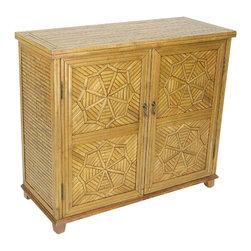 Wayborn - Wayborn Bamboo Cabinet in Honey Brown - Wayborn - Storage Cabinets - 5645Y -
