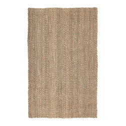 Kaleen - Kaleen Essential Collection 8505-44 5'x8' Natural - Essentials is a collection of classic and all natural Jute hand loomed designs.  Jute has been a  Green  product for eons before the movement became the main stream darling.  Kaleen has captured the true fashion essences of this beautiful product. The Essentials Collection is Hand loomed in India of only the finest 100% hand processed Jute.
