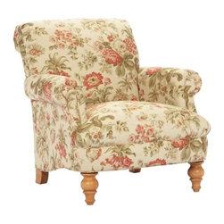 Broyhill - Lenora Floral Print Chair - 6974-0Q1 - Built Back