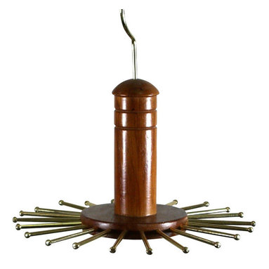 Proman - Proman Home Essential Tie Hanger Round Swivel, Walnut Finish - Home Essential Tie Hanger, round with swivel hook. Walnut finish. Holds 22 Ties. Keep Ties Wrinkle and Tangle Free. Walnut Finish. Hooks revolve for easy tie selection.
