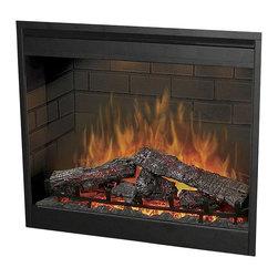 Dimplex - Dimplex 30 Inch Self Trimming Electric Firebox - Dimplex - Electric Fireplaces - DF3015