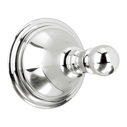 Renovators Supply - Robe Hooks Bright Chrome Robe Hook Liberty - Chrome Robe Hook. Chrome brightens any room witha clean, brilliant shine. Robe hook measures 2 7/8 in. in diameter and projects 3 3/4 in.