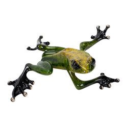 "FrogMan ""Twister"" Sculpture"