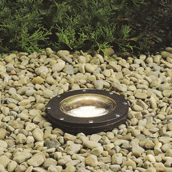 Kichler - Kichler No Family Association Outdoor Spotlight in Bronze - Shown in picture: Small In-Ground Well Lt. in Architectural Bronze