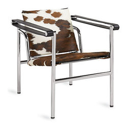 Pierre Cowhide Chair - I love the modern take on this chair. It's just gorgeous!