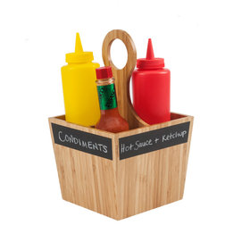 Contemporary Condiment Sets by Great Useful Stuff