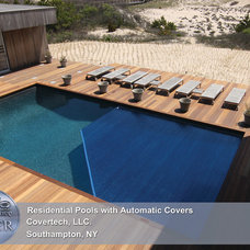 Swimming Pools And Spas by Covertech - rigid automatic pool cover