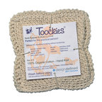 Toockies - Toockies Hand Knit Dish Cloths , 3 Packs - Set of 3 Toockies Brand multi,purpose scrub cloths are hand knit out of certified 100% organic cotton. They are ribbed for deep scrubbing without scratching any surface be it smooth, soft or textured with amazing results.