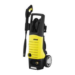 Karcher - Electric Pressure Washer K5 690 2000 Psi - The 5-Series line delivers an amazing 2000 PSI. Equipped the DirtBlaster spray wand and Vario Power Spray (VPS) wand. This model is equipped with a built-in hose reel, the ultimate solution for convenient, hassle-free storage of the high-pressure hose.