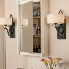 Traditional Bathroom Mirrors by Wellborn Cabinet, Inc.