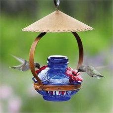 Eclectic Bird Feeders by gardenartisans.us