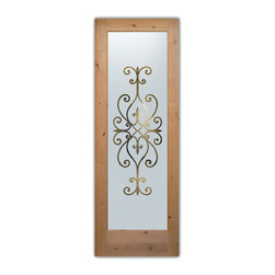 Interior Glass Doors - Frosted Semi Private CORDOBA - CUSTOMIZE YOUR INTERIOR GLASS DOOR ...