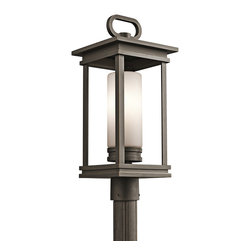 Kichler Lighting - Kichler Lighting 49478RZ South Hope 1 Light Post Lights & Accessories in Olde Br - This 1 light Outdoor Post Lantern from the South Hope collection by Kichler will enhance your home with a perfect mix of form and function. The features include a Olde Bronze finish applied by experts. This item qualifies for free shipping!