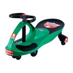 Lil Rider - Ambulance Wiggle Ride-on Car - High-quality plastics . Rugged and durable . Extra decals included . Deceptively simple to operate . No pedals . No gears . No batteries required . Measures: 30 in. L x 13.5 in. W x 16 in. HLooking for a children's toy that will delight, fascinate, and invigorate for years to come? Come to the rescue with the perfect toy: The revolutionary new Lil' Rider Wiggle car. It's like magic, but you don't need to be a magician to get it to work. The Lil' Rider Wiggle car is a mechanical marvel that makes use of that most inexhaustible of energy sources, kid-power, by harnessing the natural forces of inertia, centrifugal force, gravity, and friction. It's so easy to operate; all it needs is a driver and a smooth, flat surface. It doesn't require an expensive power source that needs constant replacement. No batteries, no power-cells, no liquid fuel-just the occasional cookie or two. It's quiet too-the only sound you'll hear is the sound of its wheels. It provides kids with plenty of exercise, more so than most toys. And the Lil' Rider Wiggle car is engineered to be absolutely safe when used appropriately.